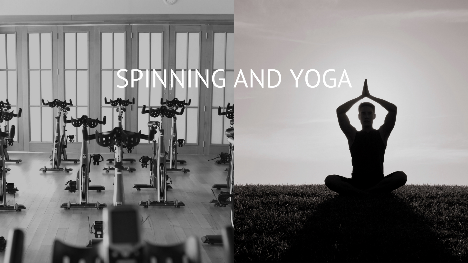 Spinning and Yoga